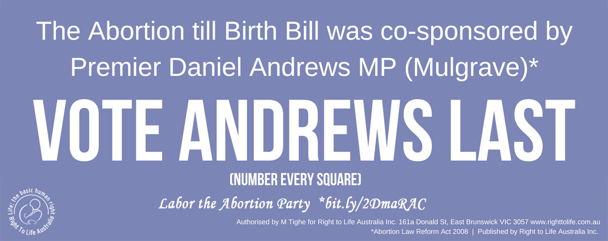 Victorian Branch ALP Platform | Andrews