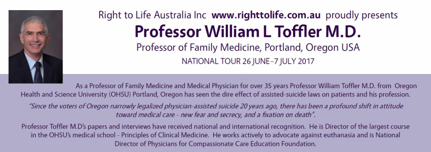 Dr William Toffler's Australian tour